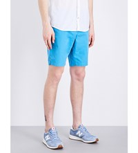 Tommy Hilfiger Brooklyn Classic Fit Cotton Shorts Bluejay