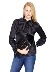 Kate Spade Madison Ave. Collection Fia Top Black