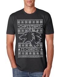Body Rags Clothing Co Christmas Is Coming Printed Tee Black