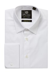 Skopes Men's 24 7 Mode Collection Formal Shirt White