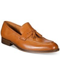 Tasso Elba Men's Leo Loafers With Tassels Only At Macy's Men's Shoes Tan
