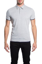 7 Diamonds Men's 'Ultimate' Polo Ash