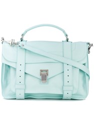 Proenza Schouler Medium Ps1 Satchel Women Leather One Size Blue