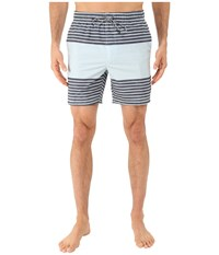 Rvca Sinister Elastic Hybrid Trunk Carbon Men's Shorts Gray