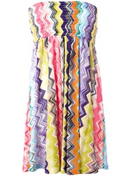Missoni Strapless Zigzag Dress