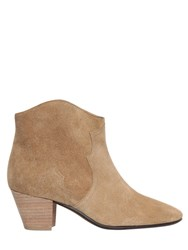 Isabel Marant Etoile 50Mm Dicker Suede Boots