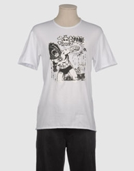 Liquid Short Sleeve T Shirts Grey