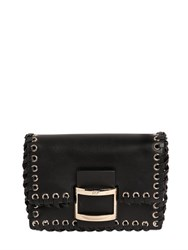 Roger Vivier Micro Viv Leather Shoulder Bag