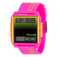 Vestal Digichord Watch Pink Yellow