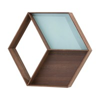 Ferm Living Wonder Wall Mirror Smoked Oak
