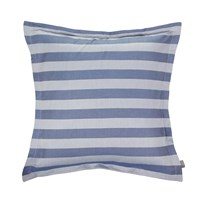 Gant Rig Stripe Pillowcase Mid Blue 65X65cm