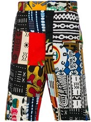 Engineered Garments African Patchwork Shorts Multicolour