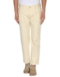 Dandg D And G Casual Pants Light Yellow
