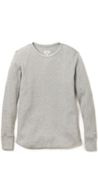 Rag And Bone Standard Issue Waffle Pullover