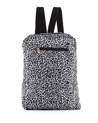 Under 1 Sky Camo Nylon Packable Backpack Black