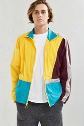 Without Walls Full Zip Colorblock Nylon Jacket Yellow