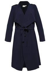 Object Objannlee Classic Coat Sky Captain Dark Blue