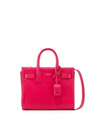 Sac De Jour Nano Crossbody Bag Fuchsia Saint Laurent Pink