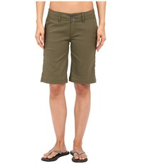 Prana Halle Shorts Cargo Green Women's Shorts