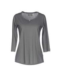 Almeria T Shirts Grey