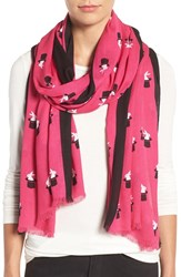 Kate Spade Women's New York Magic Trick Oblong Scarf