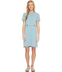 United By Blue Chelan Dress Teal Women's Dress Blue