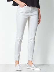 John Lewis Collection Weekend By Skinny Twill Jeans White