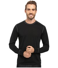 Hot Chillys Single Layer Crew Neck Black Men's Clothing