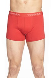 Topman Bright Colors Jersey Boxer Briefs 3 Pack Purple Multi