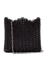 Paco Rabanne Iconic 1969 Chain Shoulder Bag Black