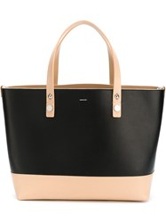 Moncler Colour Block Shopper Tote Black