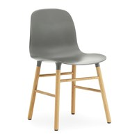 Normann Copenhagen Form Chair Oak Grey