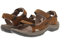Teva Jetter Cigar Men's Toe Open Shoes Brown
