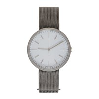 Uniform Wares Grey And White Titanium M37 Watch