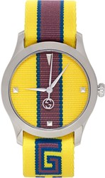 Gucci Yellow G Timeless Watch