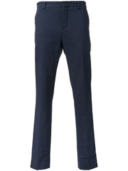 Carven Cropped Tailored Trousers Blue