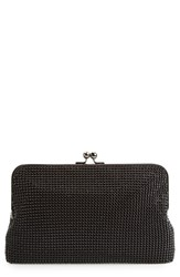 Whiting And Davis Mesh Clutch Black