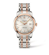 Longines Saint Imier Bicolour Watch Unisex White