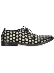 Marsell Marsell Polka Dot Lace Up Shoes Black