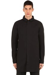 Arc'teryx Keppel Nylon Trench Coat Black