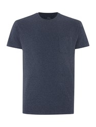 Linea Austin Short Sleeve Crew Neck Pocket T Shirt Navy
