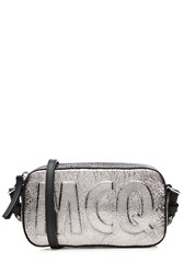Mcq By Alexander Mcqueen Leather Shoulder Bag Silver