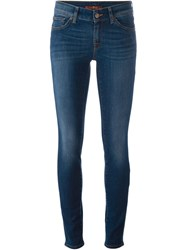 7 For All Mankind Skinny Fit Jeans Blue