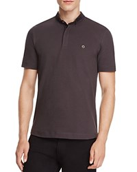 Armani Collezioni Regular Fit Polo Gray