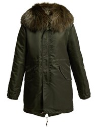 Mr And Mrs Italy New York Parka Dark Green