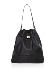 Jason Wu Soft Leather Bucket Bag Black