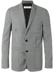 Golden Goose Deluxe Brand Checked Blazer Black