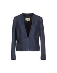 M.Grifoni Denim Blazers Dark Blue