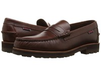 Sebago Vershire Penny Brown Oiled Waxy Leather Men's Shoes