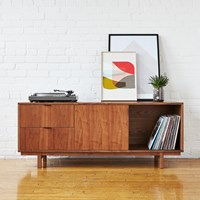 Gus Design Group Belmont Media Stand Brown